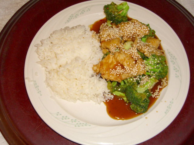 Sesame Chicken And Eggplant Recipe — Dishmaps